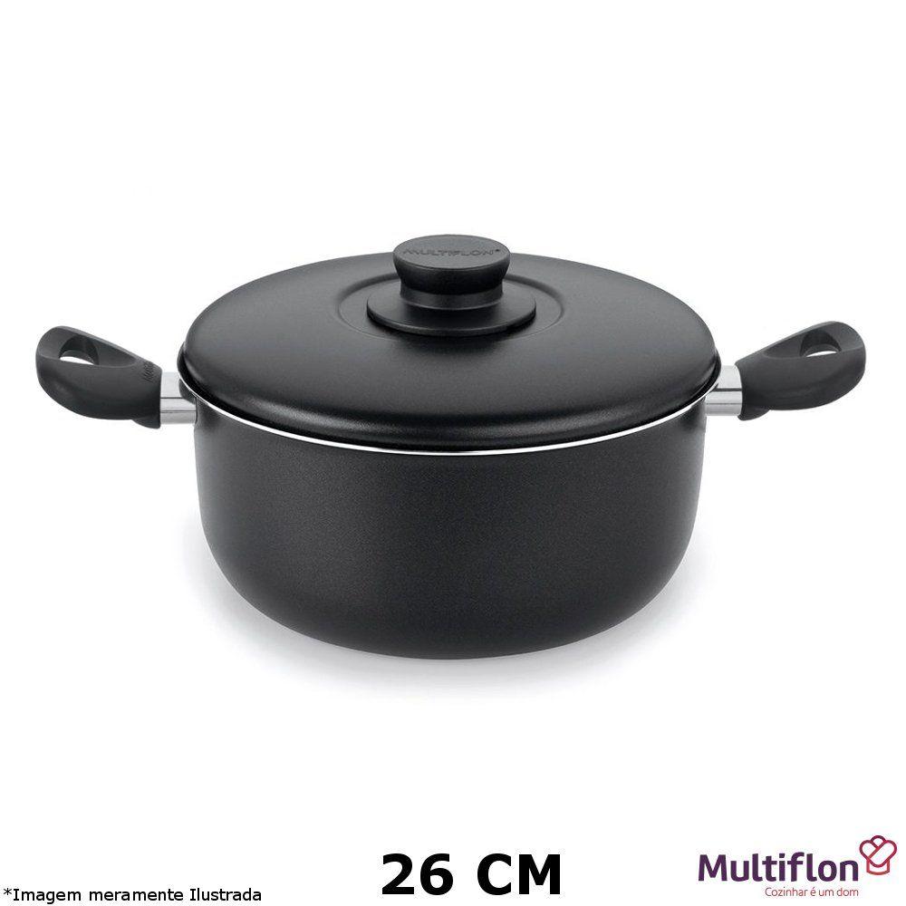Caçarola Teflon Gourmet Vapore 26 cm - Multiflon