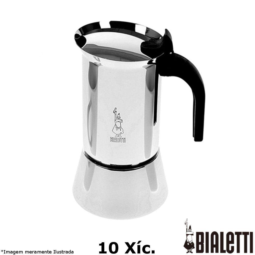 Cafeteira Italiana Inox Venus 10 xícaras - Bialetti