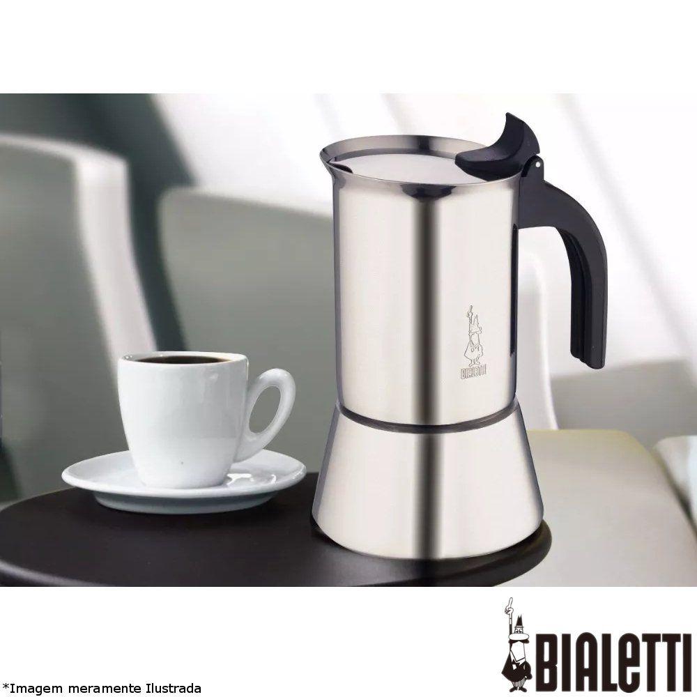 Cafeteira Italiana Inox Venus 4 xícaras - Bialetti