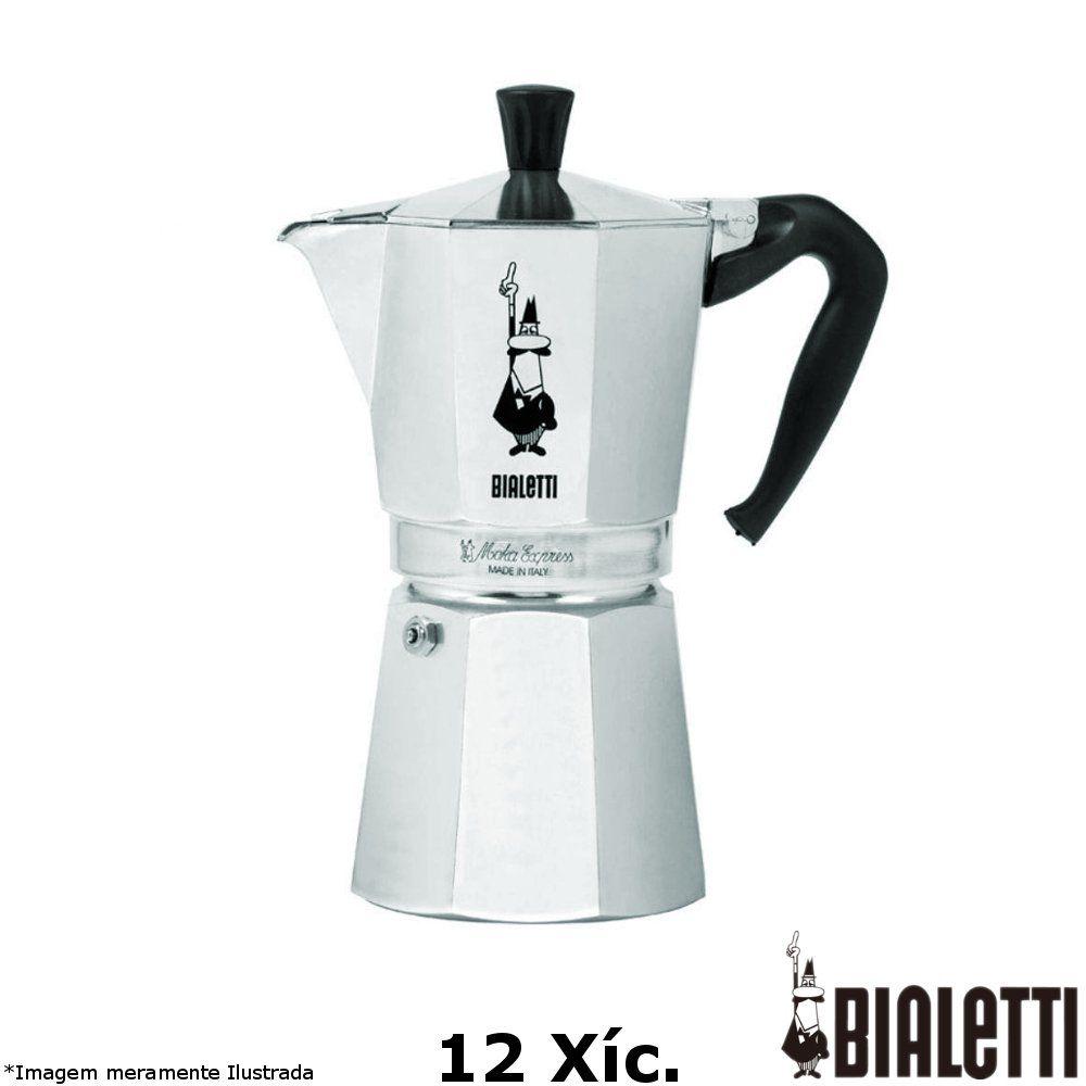 Cafeteira Italiana Moka Express 12 Xícara - Bialetti