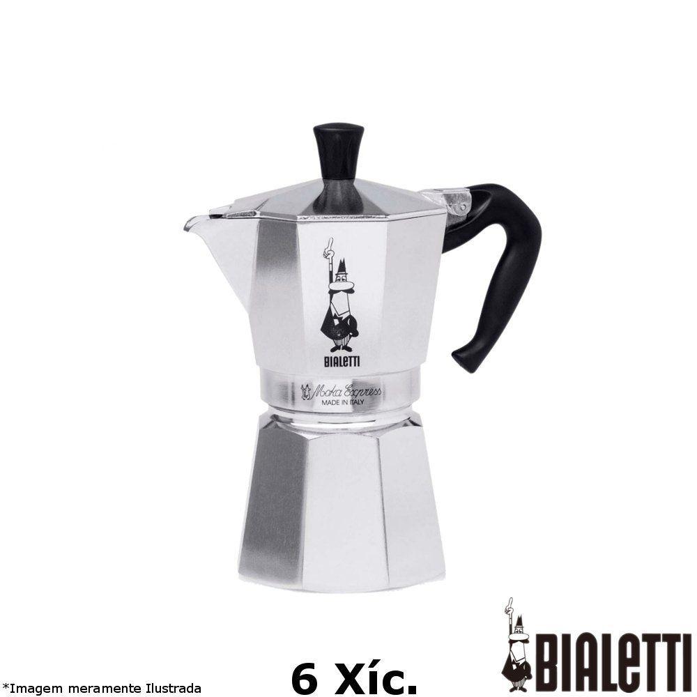 Cafeteira Italiana Moka Express 6 Xícara - Bialetti