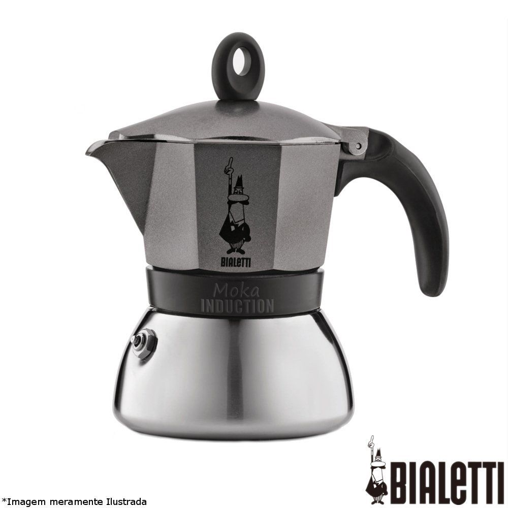 Cafeteira Italiana Moka Induction - Bialetti