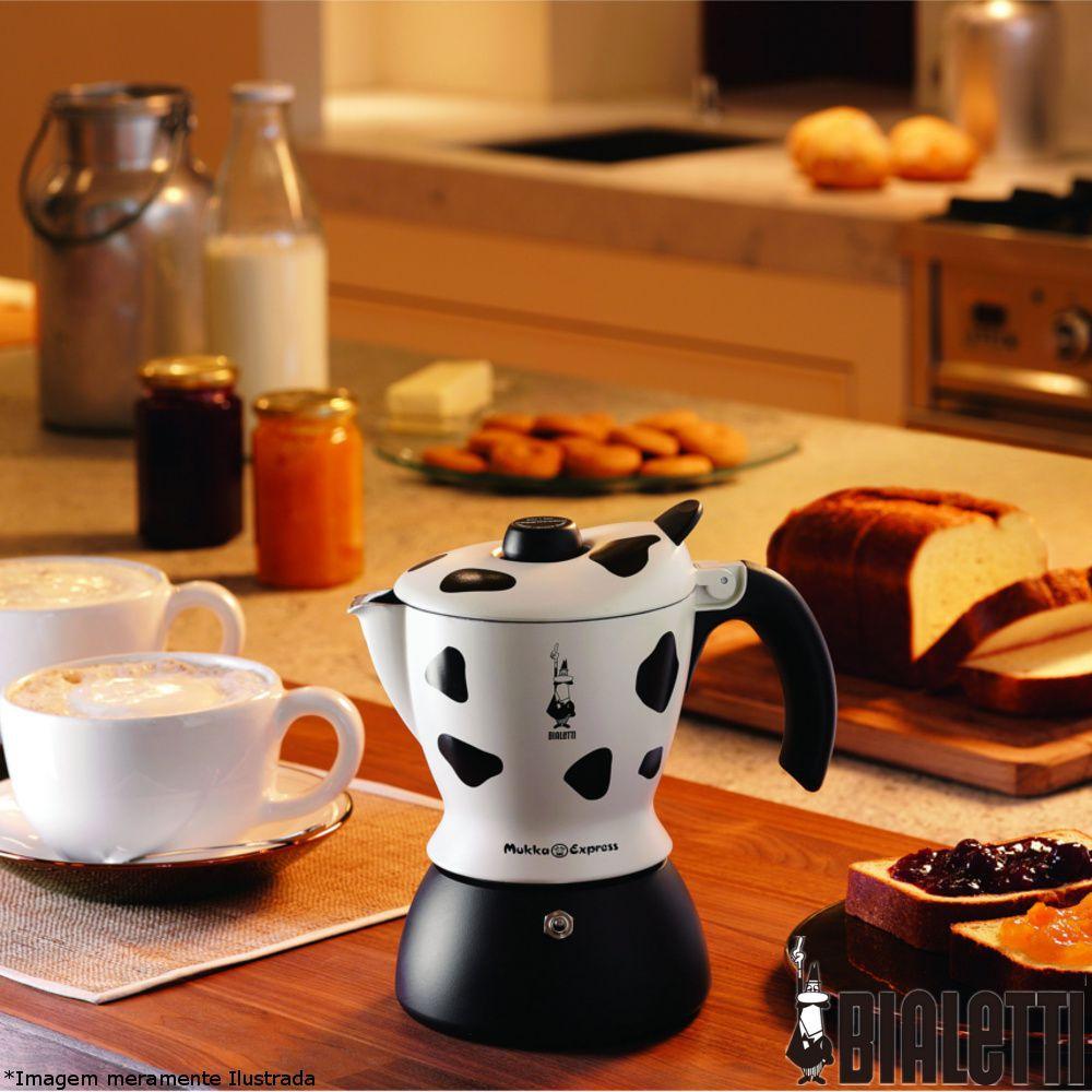 Cafeteira Italiana Mukka Express Arte Del Cappuccino
