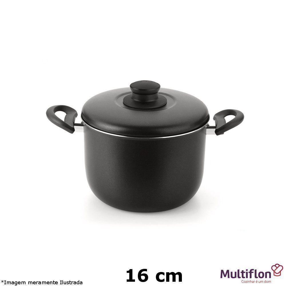 Caldeirão Antiaderente Gourmet 16 cm - Multiflon