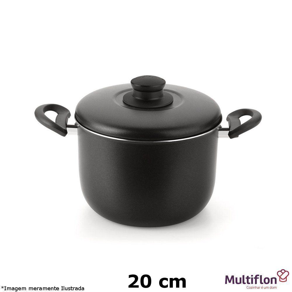 Caldeirão Teflon Gourmet Vapore 20 cm - Multiflon