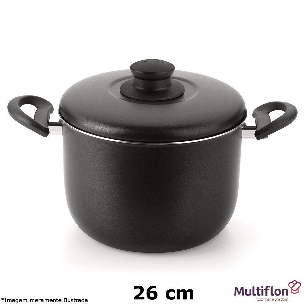 Caldeirão Teflon Gourmet Vapore 26 cm - Multiflon