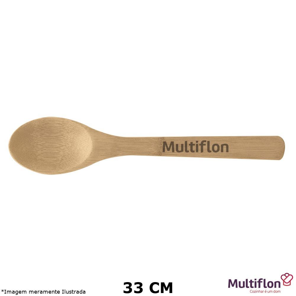 Colher Bambu 33 cm - Multiflon
