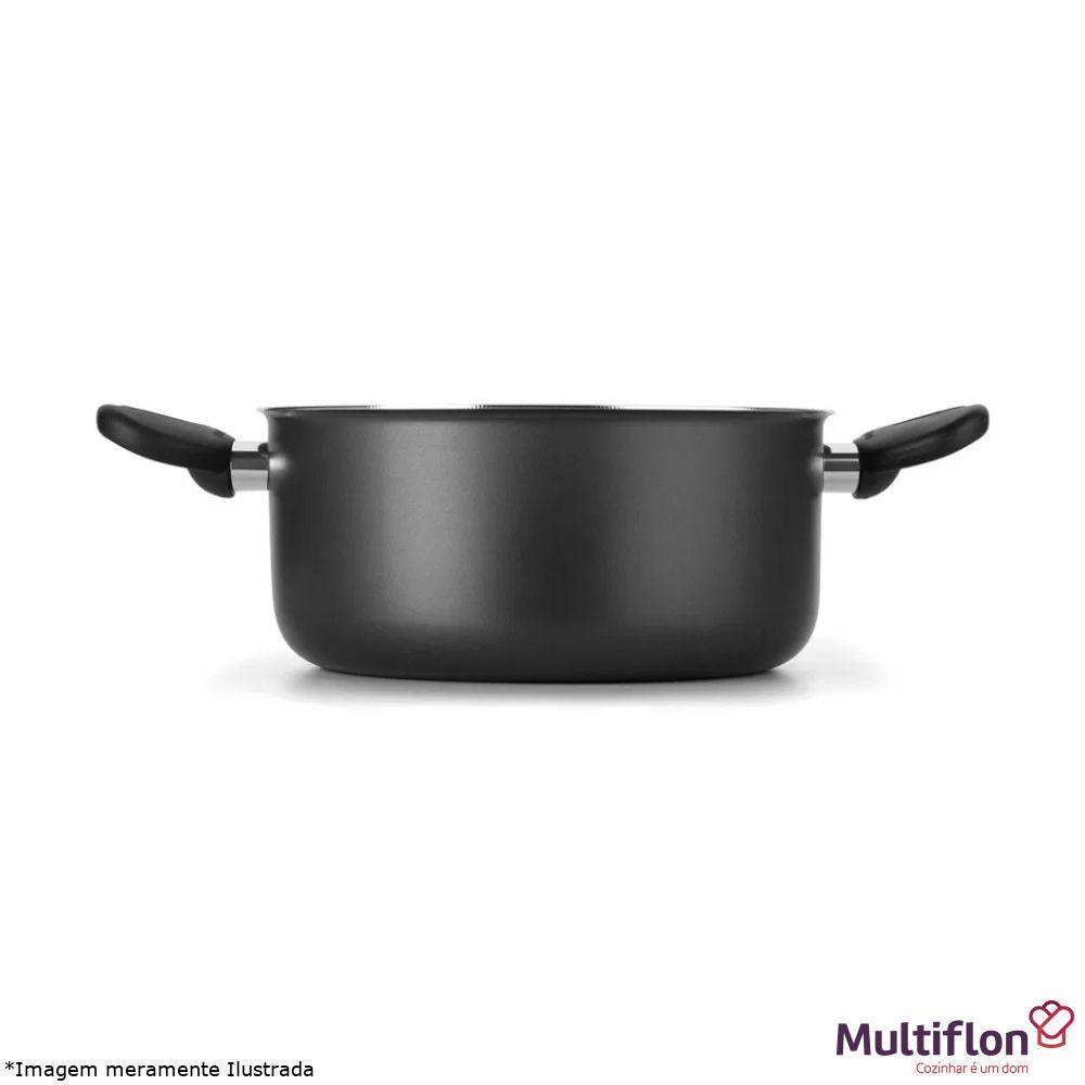 Conjunto Antiaderente Caçarolas 16 a 24 - Multiflon