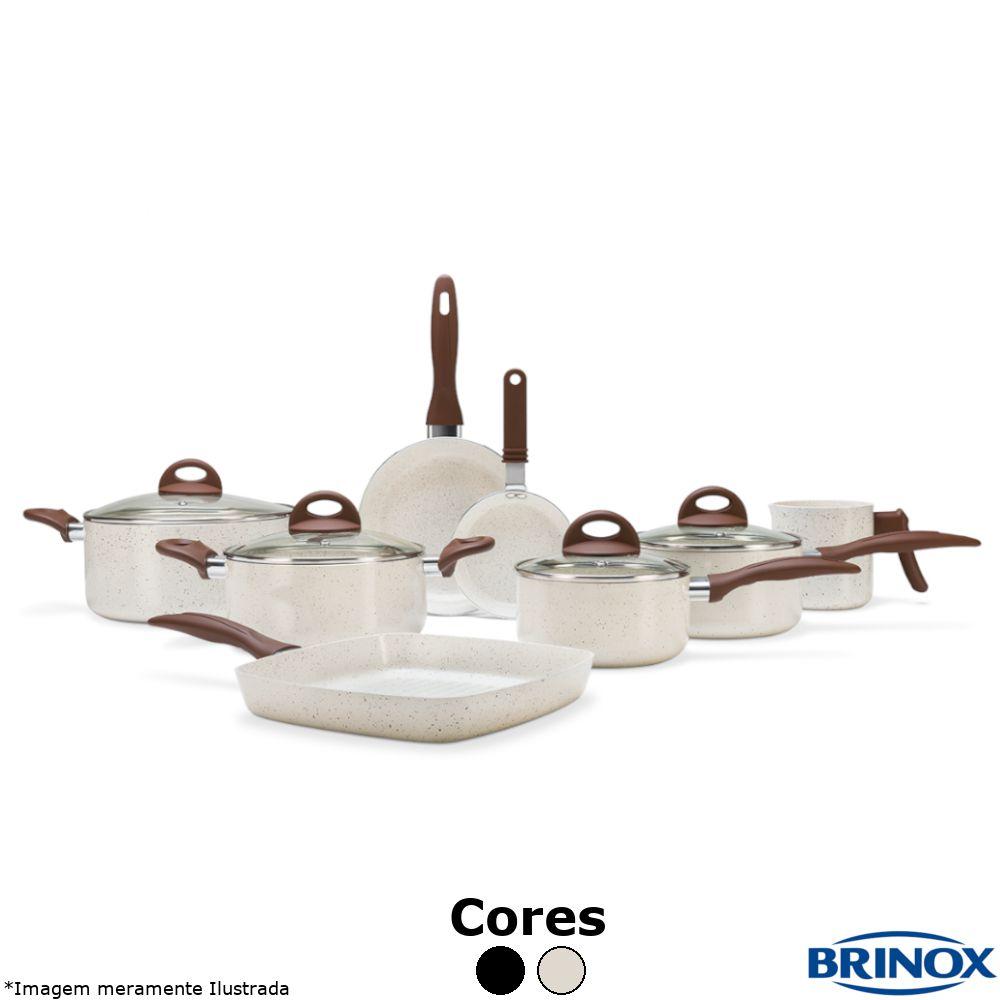 Conjunto Panelas Smart Plus 8 Peças - Brinox