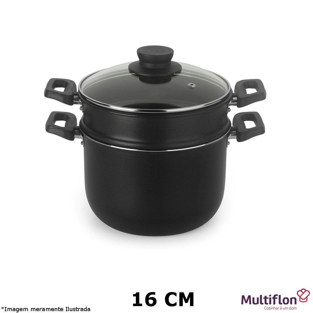 Cozi Vapor / Cuscuzeira Antiaderente 16 cm - Multiflon