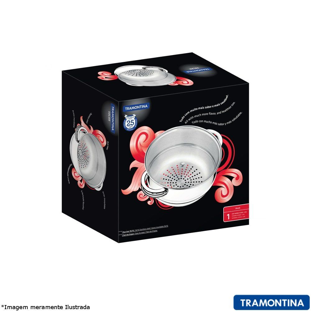 Cozi Vapor Inox 16 cm Solar - Tramontina