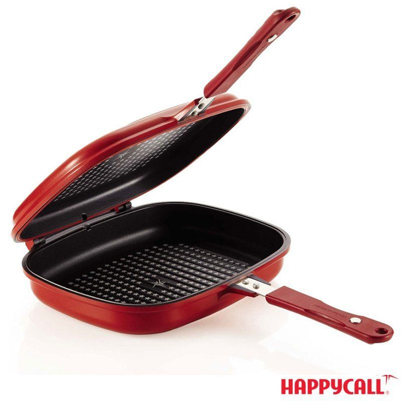 Double Pan Jumbo Grill - HappyCall
