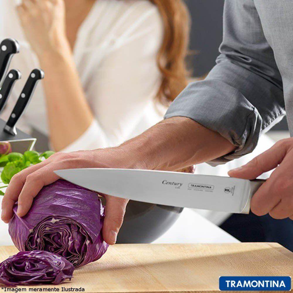 "Faca Chef 10"" Century - Tramontina"