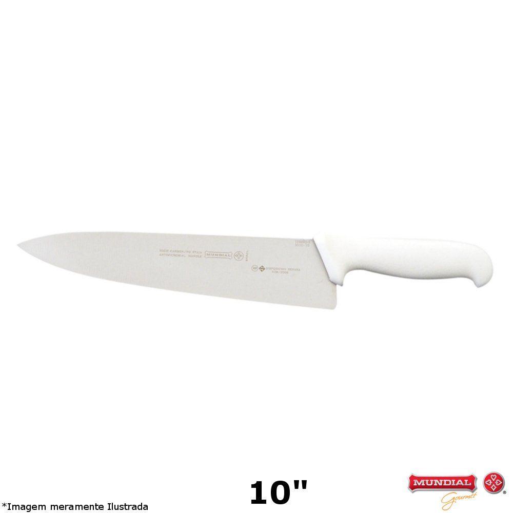 """Faca Profissional Chef 10"""" - Mundial"""