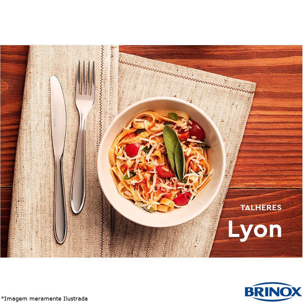 Faqueiro Inox 24 Peças Lyon - Brinox
