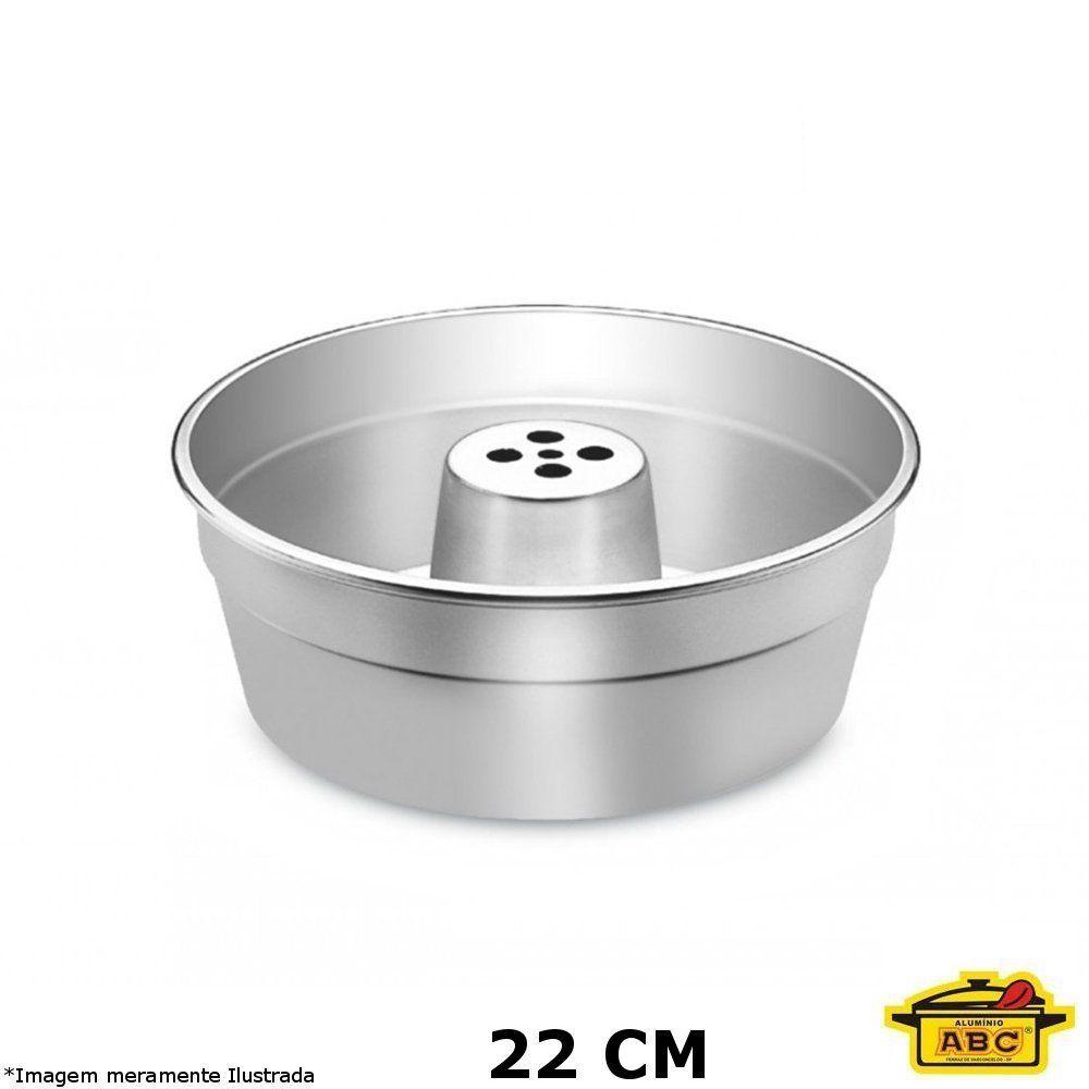 Forma Bolo C/ Tubo Alumínio 22 cm - ABC