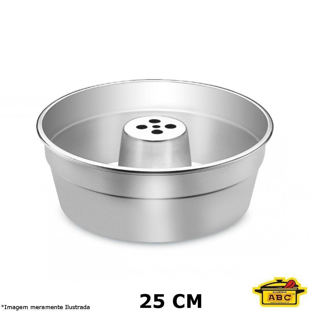Forma Bolo c/ Tubo Alumínio 25 cm - ABC