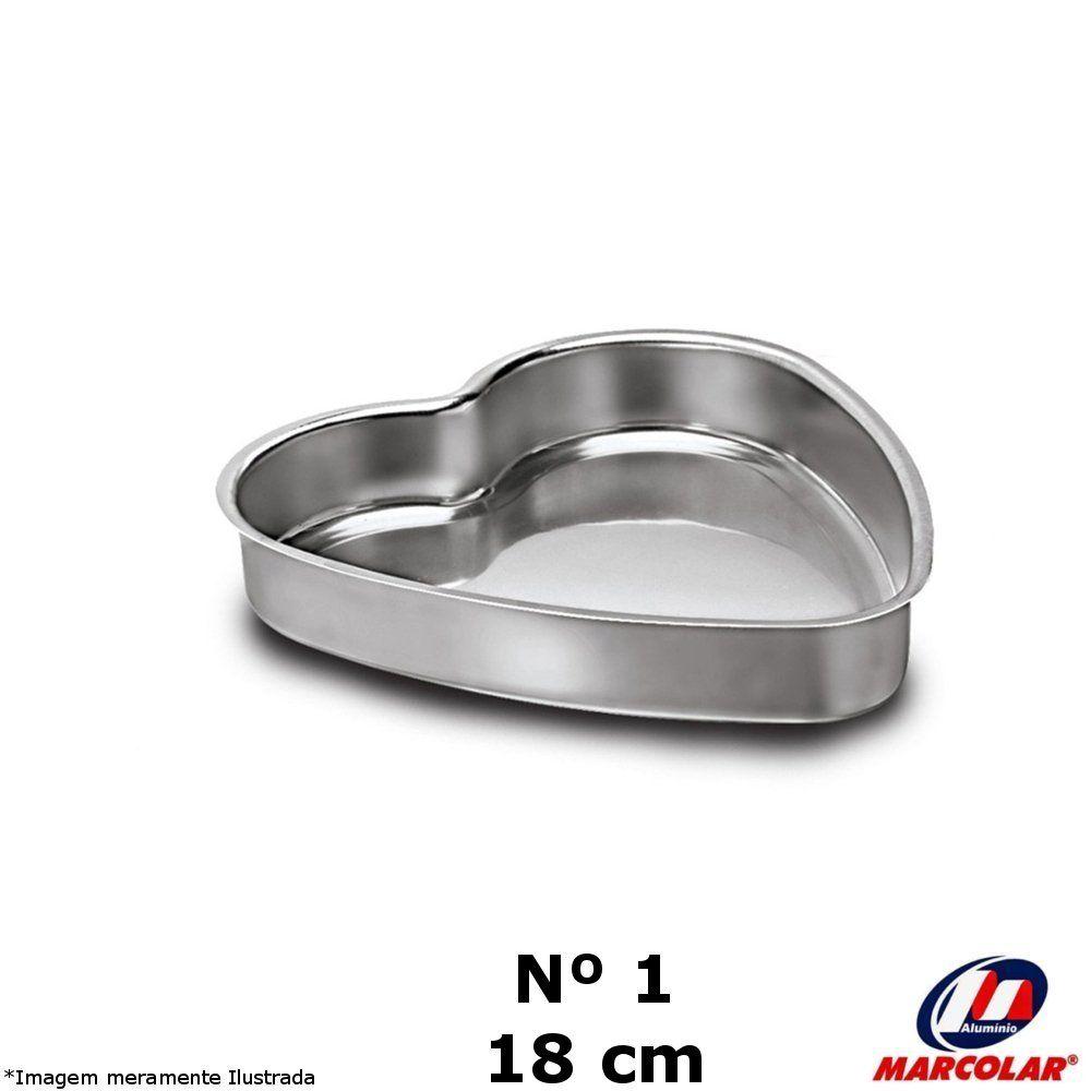 Forma Coração Nº 1 Alumínio - Marcolar