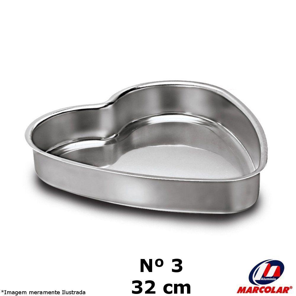 Forma Coração Nº 3 Alumínio - Marcolar