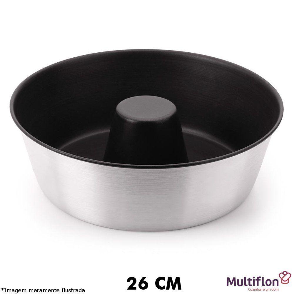 Forma P/ Bolo Teflon 26 cm - Multiflon