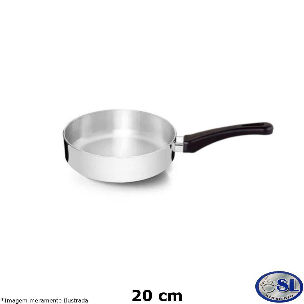 Frigideira Alumínio Polido 20 cm