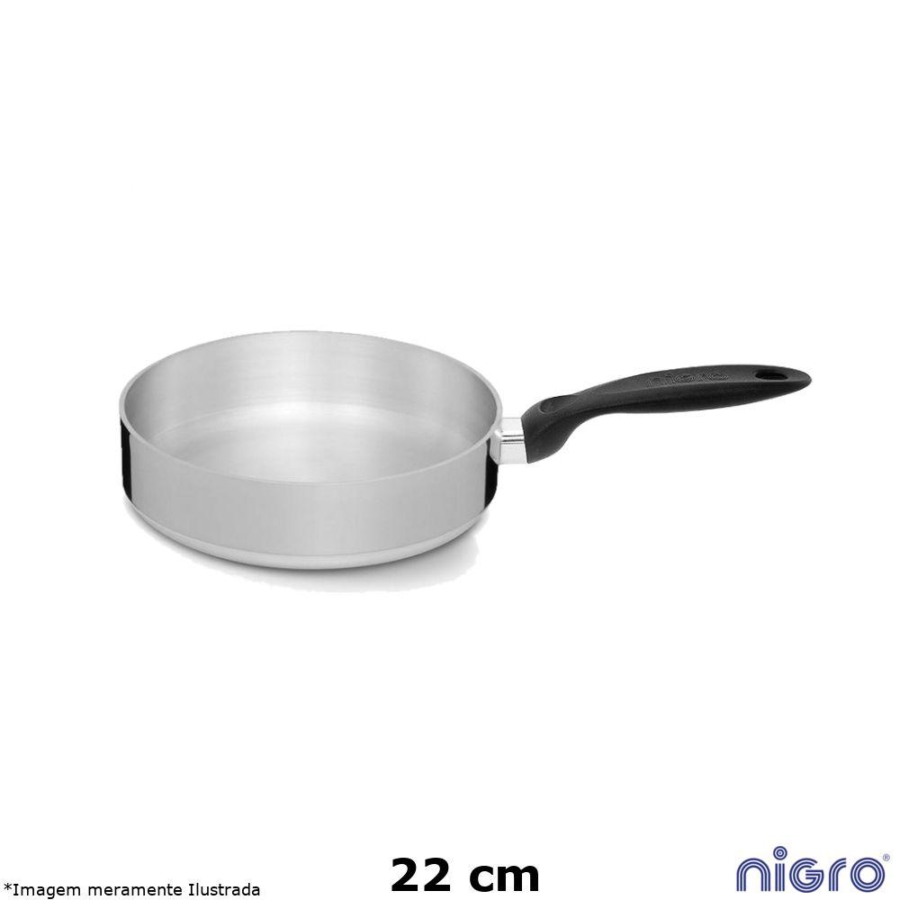 Frigideira Alumínio Polido Eterna 22 cm - Nigro