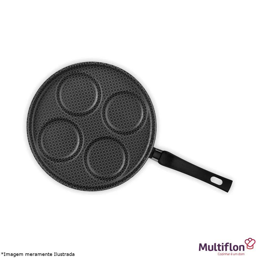 Frigideira Antiaderente Para 4 Ovos Linha Gourmet - Multiflon