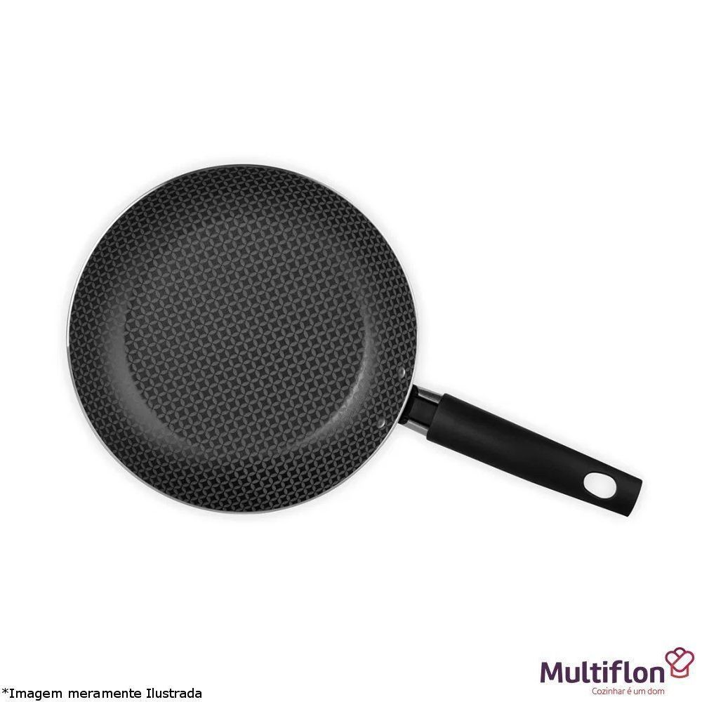 Frigideira Ovo 14 cm Antiaderente Gourmet - Multiflon
