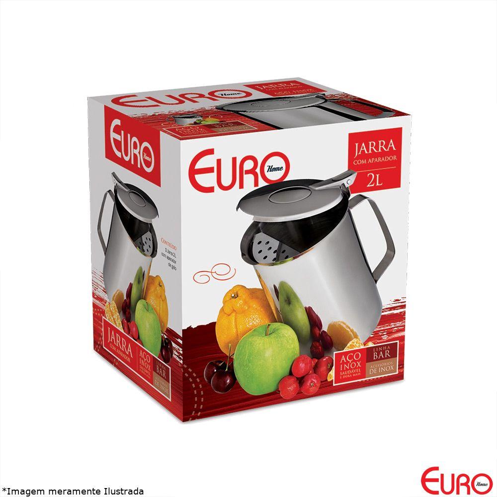 Jarra Inox 2 Litros com Aparador - Euro
