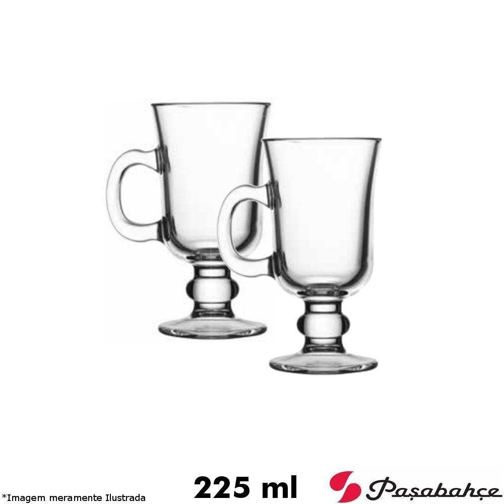 Jogo 02 Taças Capuccino / Irish Coffee 225 ml - Pasabahce
