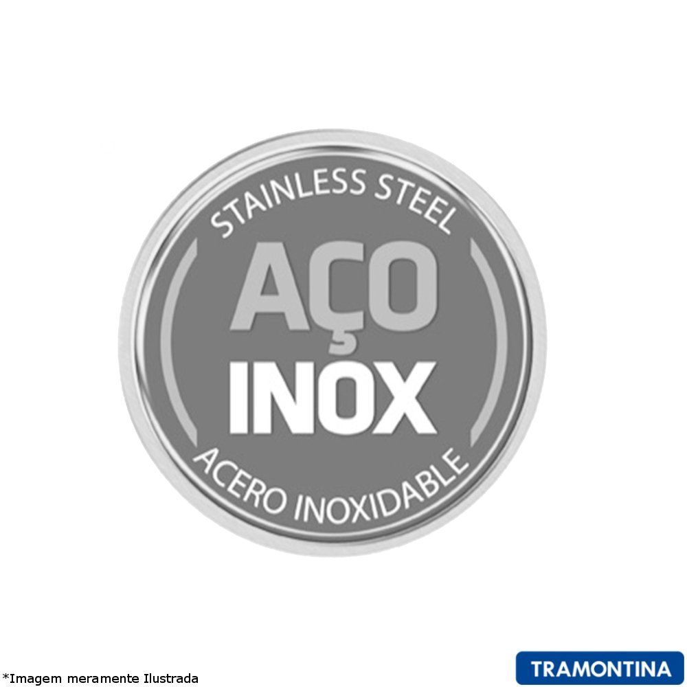 Jogo Panelas Inox Solar Baquelite 6 Peças - Tramontina