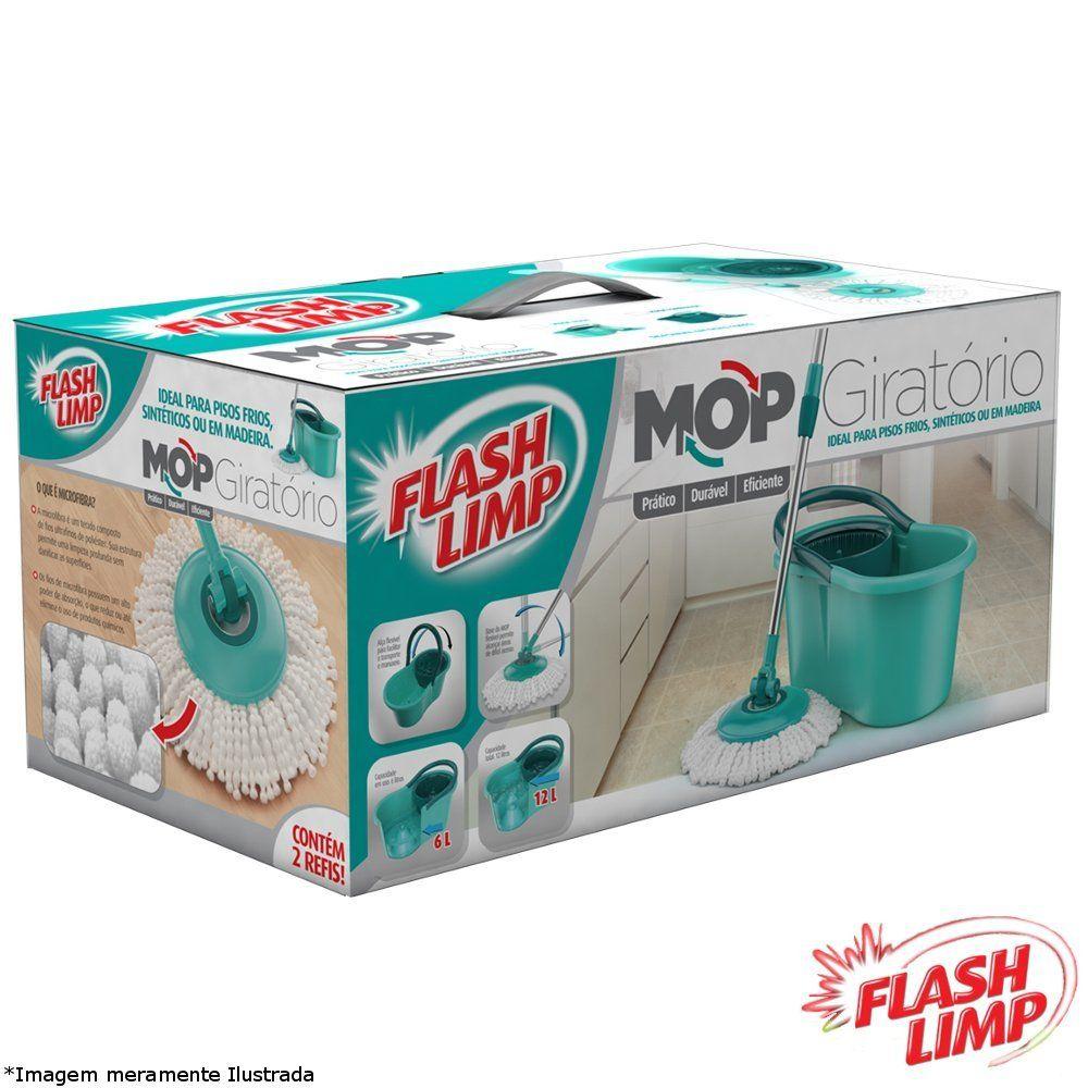 Mop Giratório - Flash Limp