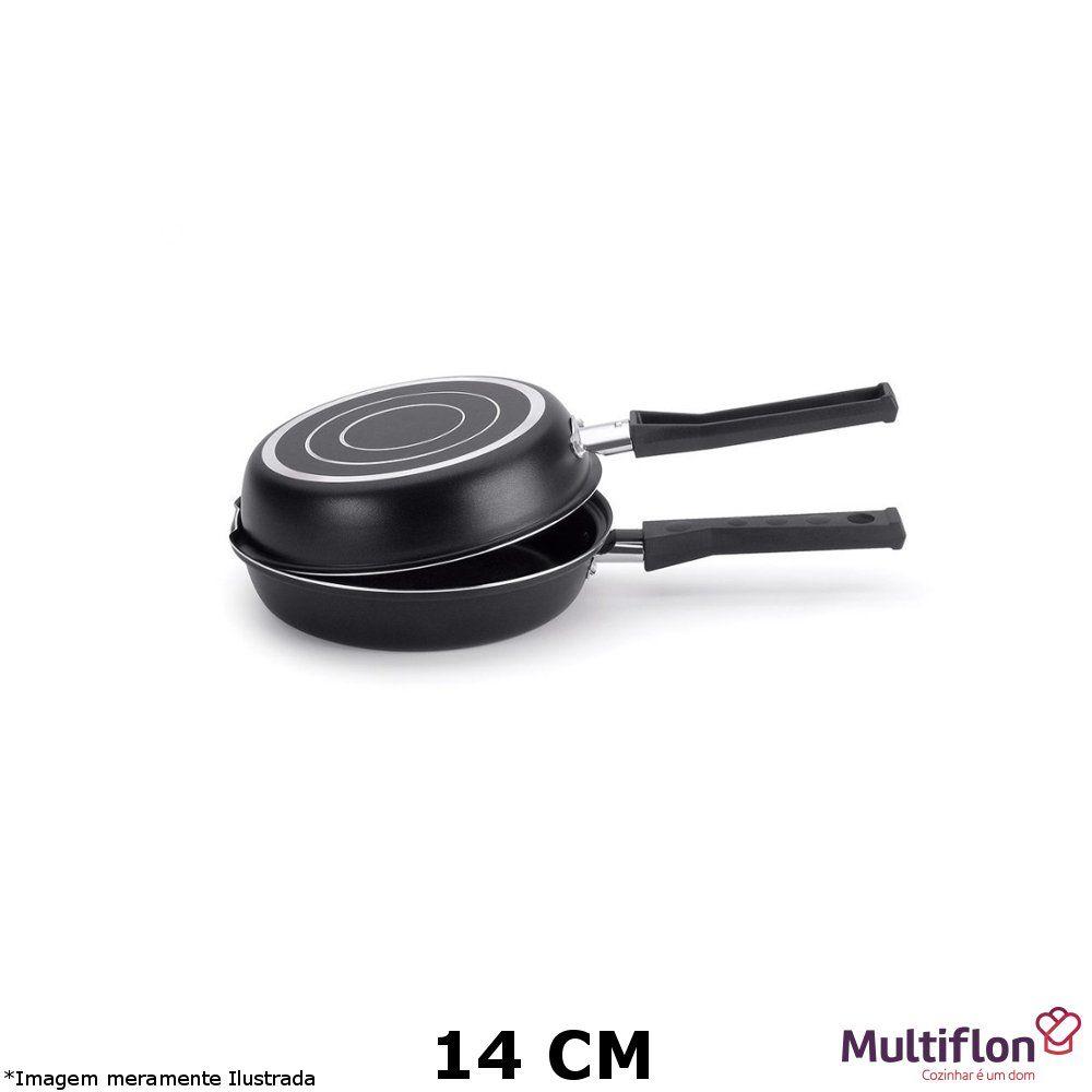 Omeleteira Tefon Gourmet Vapore 14 cm - Multiflon