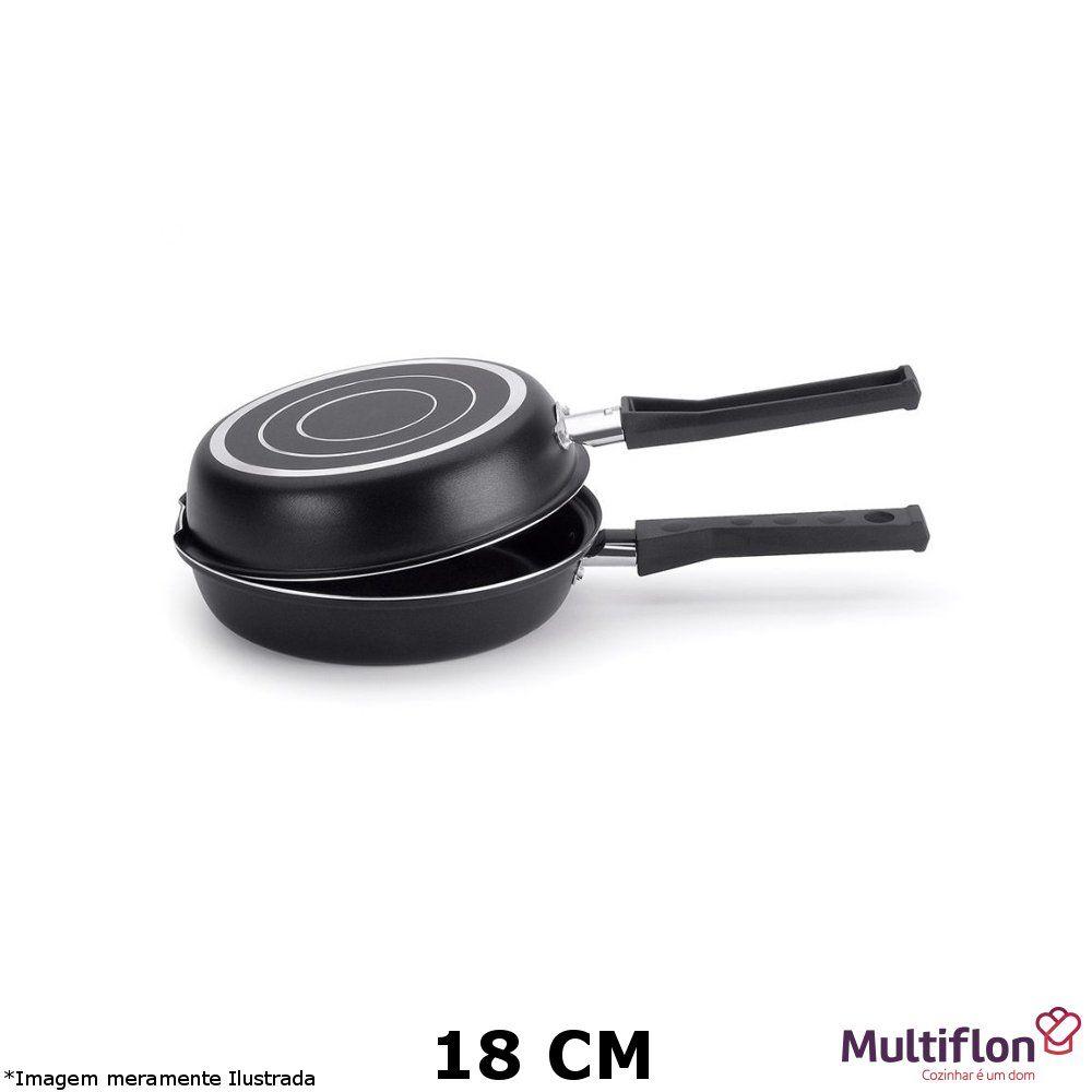 Omeleteira Teflon Gourmet Vapore 18 cm - Multiflon