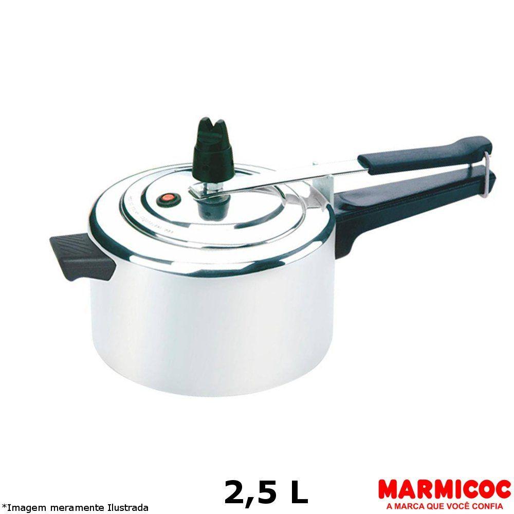 Panela de Pressão Alumínio 2,5 L - Marmicoc