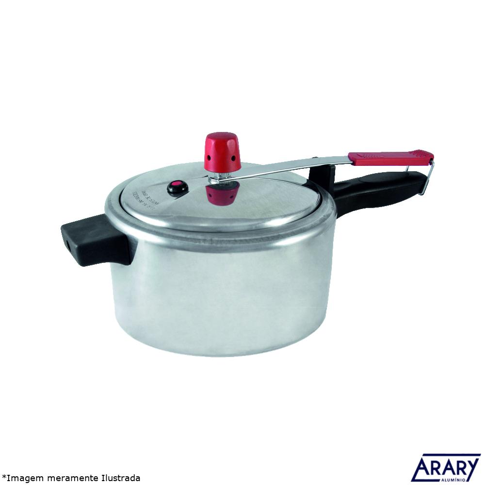 Panela de Pressão Alumínio Polido 3,0 L - Arary