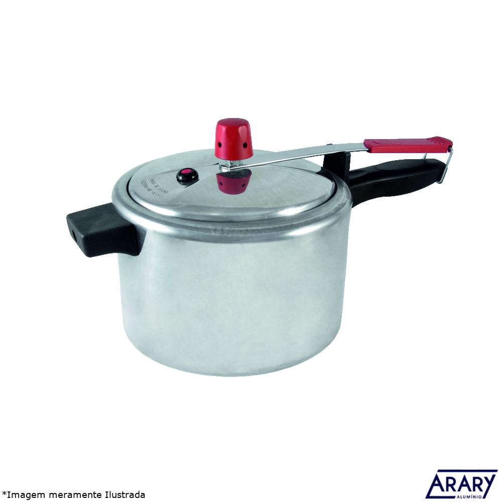 Panela de Pressão Alumínio Polido 4,5 L - Arary