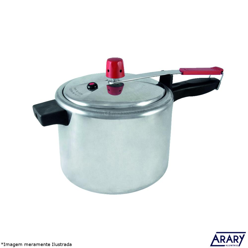 Panela de Pressão Alumínio Polido 7,0 L - Arary