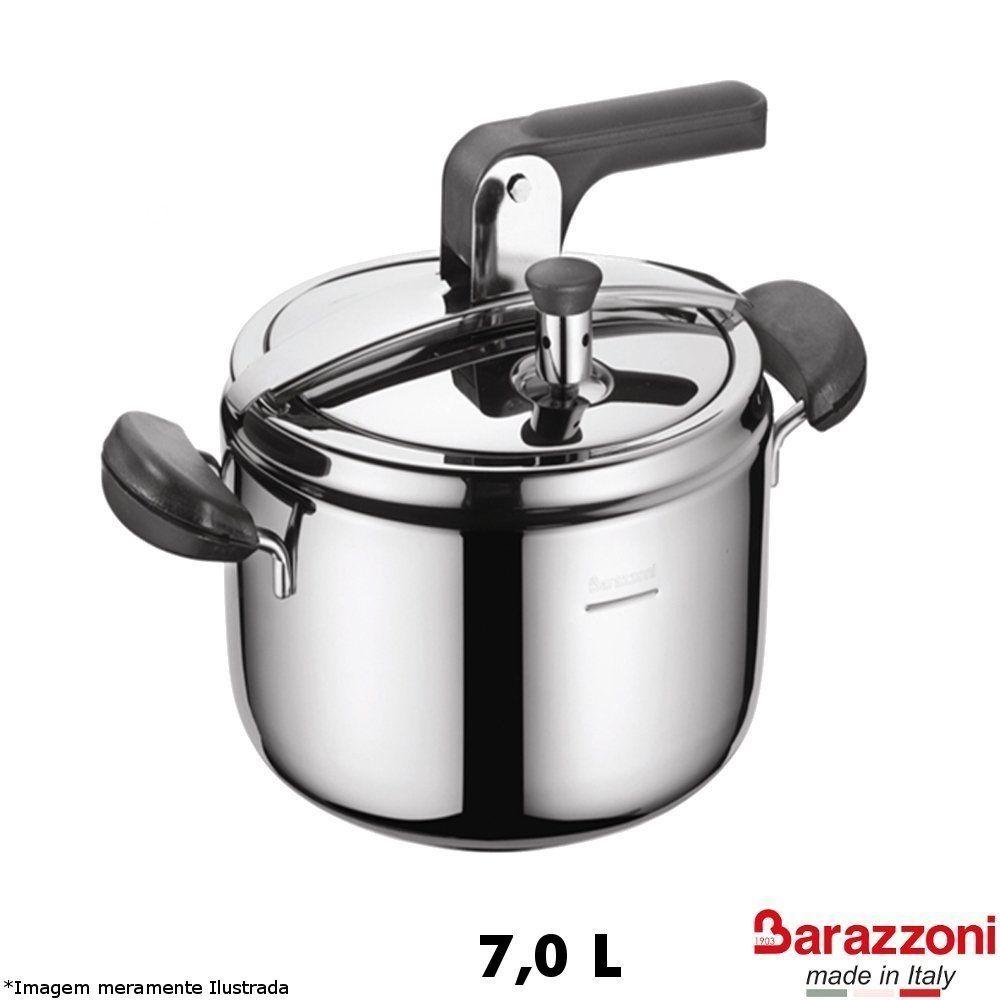 Panela de Pressão Inox 7,0 L - Barazzoni