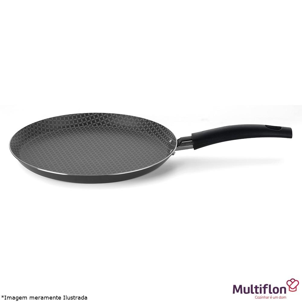 Panquequeira / Tapioqueira Antiaderente 18 cm Gourmet - Multiflon