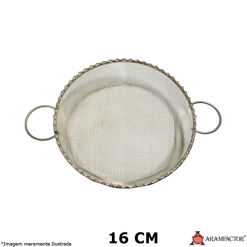 Peneira com Duas Alças 16 cm - Aramfactor