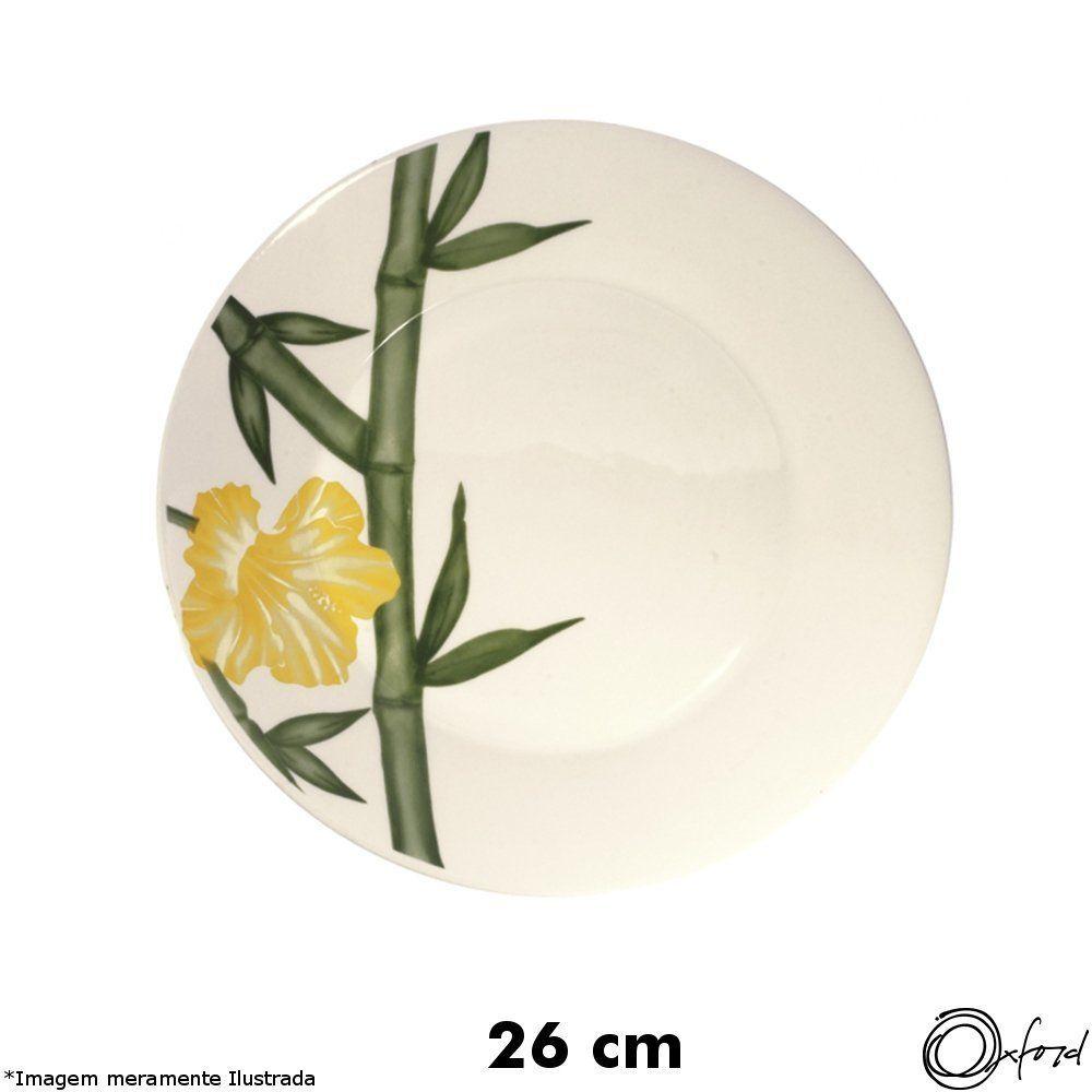 Prato Cerâmica Raso Biona Tropical - Oxford
