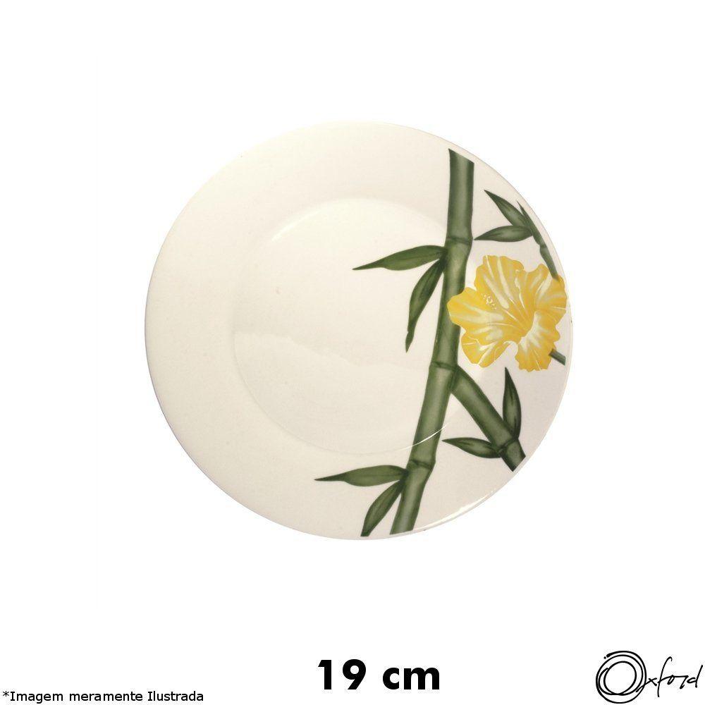 Prato Cerâmica Sobremesa Biona Tropical - Oxford