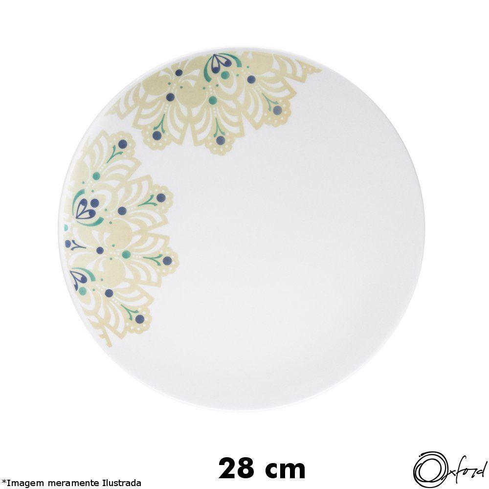 Prato Porcelana Raso Lindy Hop - Oxford