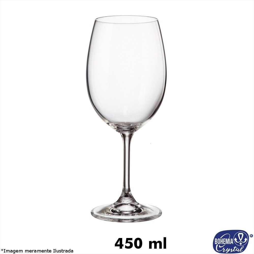 Taça Cristal Lara 450 ml - Bohemia