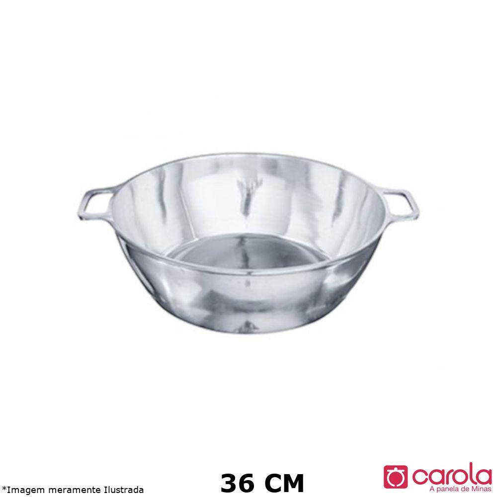 Tacho Alumínio Fundido s/ Tampa 36 cm - Metalúrgica Carola