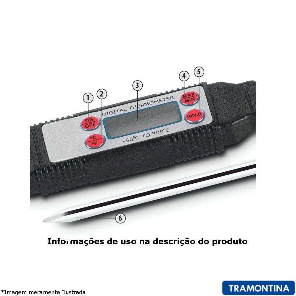 Termômetro Culinário digital - Tramontina