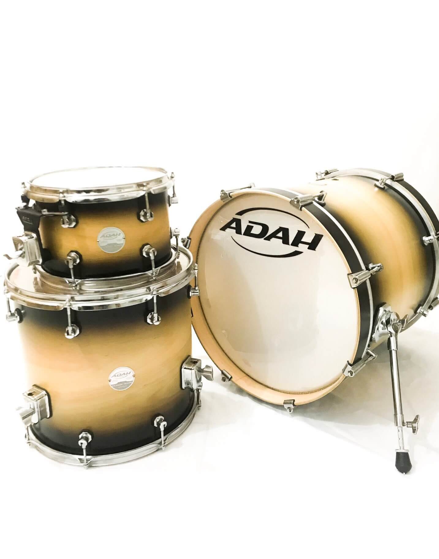 Bateria Adah Classic Wood 10/14/18 Shell Pack - SP DRUMS