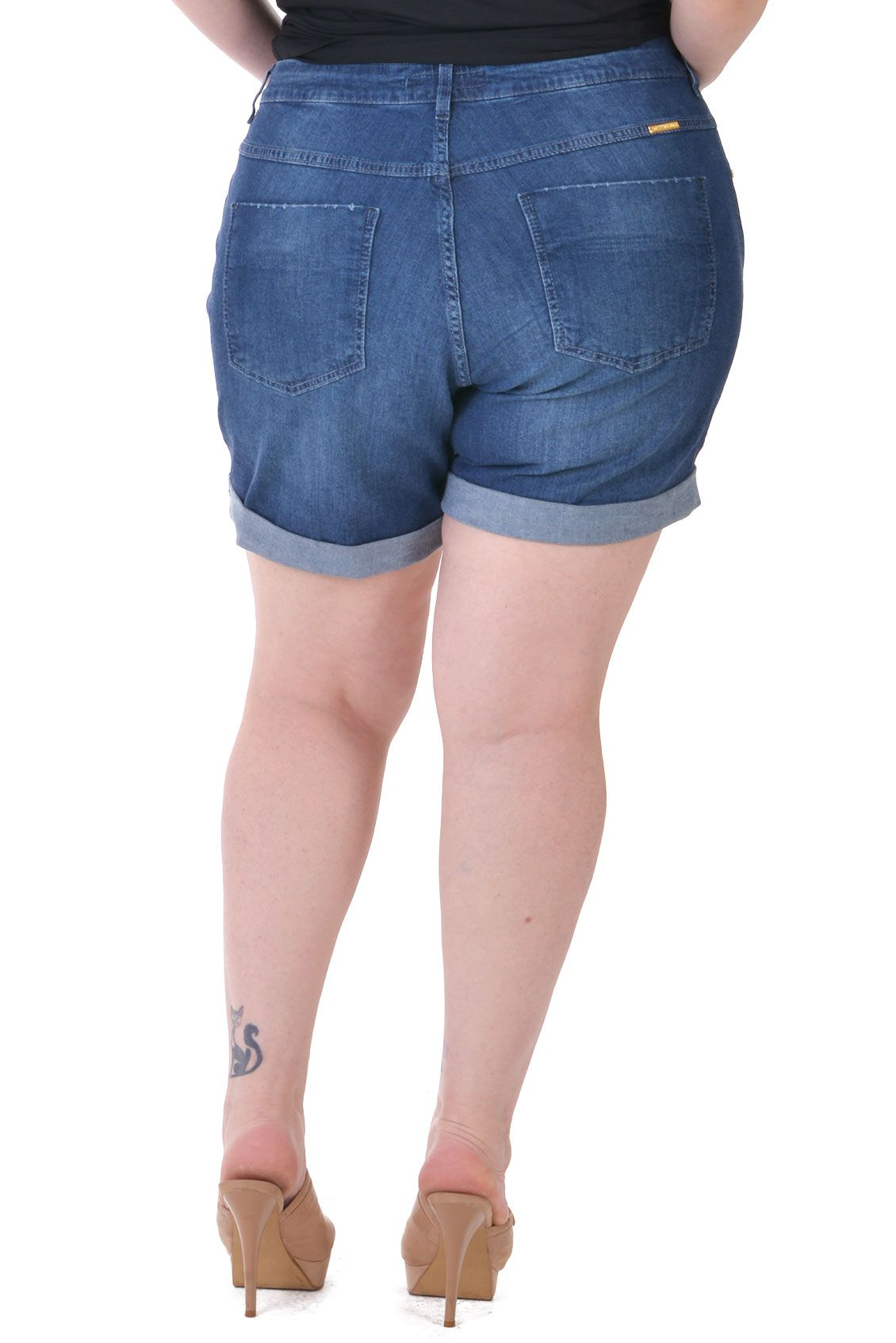Shorts Jeans Plus Size Torn