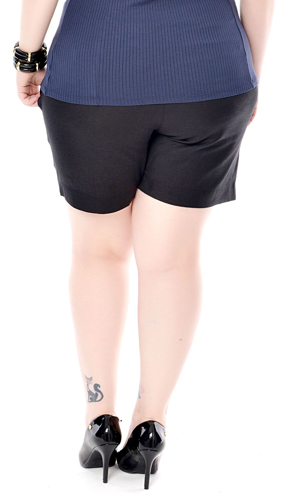 Shorts Plus Size Linen